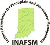 Indiana Association for Floodplain and Stormwater Management Logo